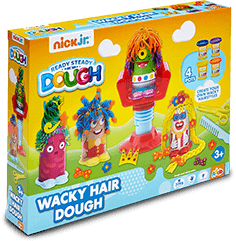 Wacky Hair Dough